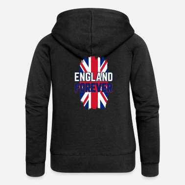 England England Islands Europe Gift - Women's Premium Zip Hoodie