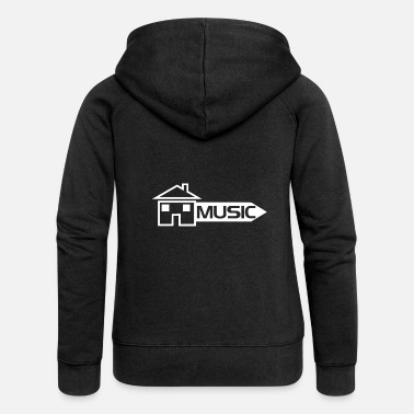 House Music House Music - Women's Premium Hooded Jacket