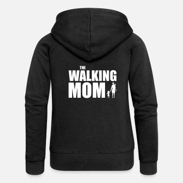 Beware THE WALKING MOM - Women's Premium Hooded Jacket
