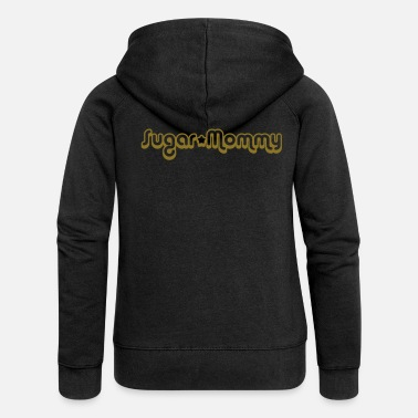 Mummy Sugar Mommy - Frauen Premium Kapuzenjacke