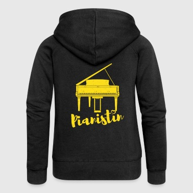 pianist - Women's Premium Hooded Jacket