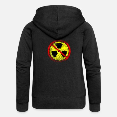 Castor Transport Anti nuclear power nuclear power plants nuclear waste nuclear energy - Women's Premium Zip Hoodie