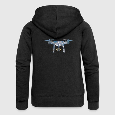 Drone drone - Women's Premium Hooded Jacket