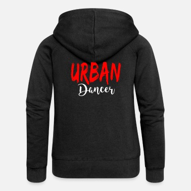 Urban Urban Dancer - Urban Dance Shirt - Dame Premium hættejakke