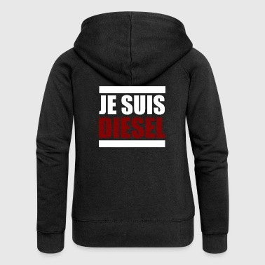Je suis diesel diesel car scandal - Women's Premium Hooded Jacket