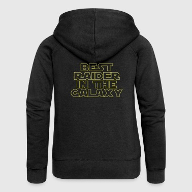 Best Raider in the Galaxy - Women's Premium Hooded Jacket
