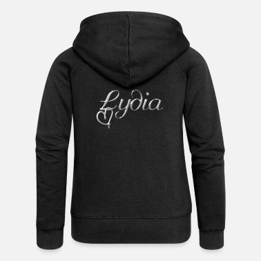 Name Day Lydia name first name name day - Women's Premium Zip Hoodie