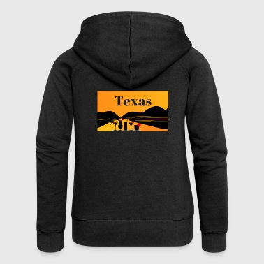 Texas - Women's Premium Hooded Jacket