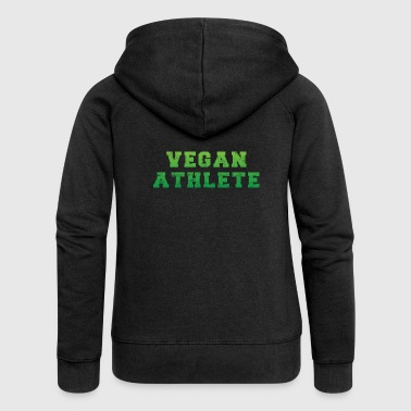 Vegan Sportsman - Vegan Athlete - Women's Premium Hooded Jacket
