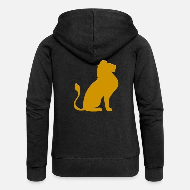 Real Lion - Women's Premium Zip Hoodie