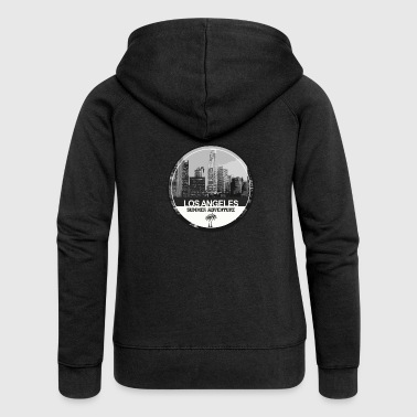 Los Angeles los Angeles - Women's Premium Hooded Jacket