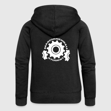 Mechanical engineering student study - Women's Premium Hooded Jacket