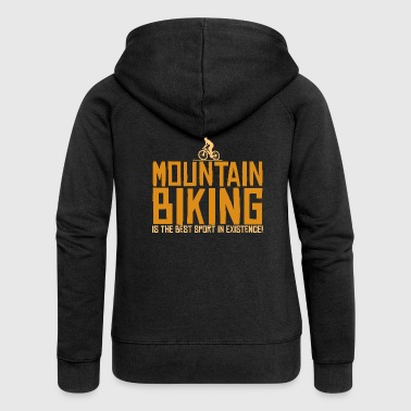 mountain bike - Women's Premium Hooded Jacket