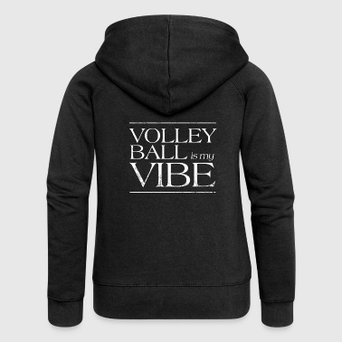 Volleyball volleyball beach volleyball gift - Women's Premium Hooded Jacket