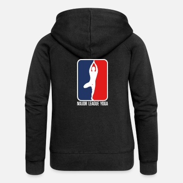 Major League Major League Yoga - Women's Premium Zip Hoodie
