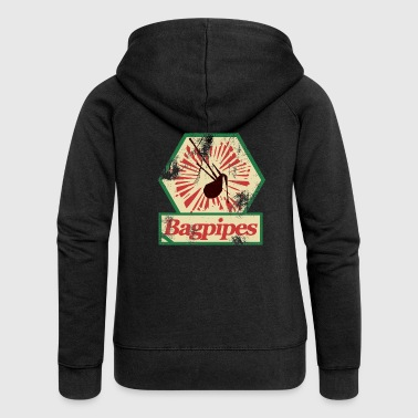 bagpipes bagpipe - Women's Premium Hooded Jacket