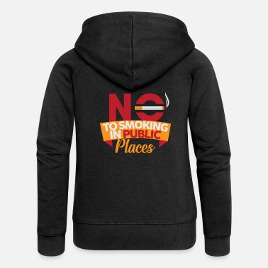 Smoking No Smoking, No Smoking, No Smoking - Women's Premium Hooded Jacket