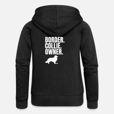 Border collie border collie owner gift - Women's Premium Hooded Jacket
