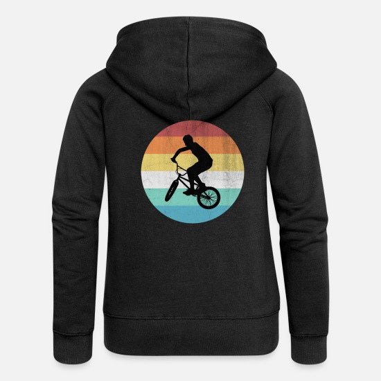 Bicycle Hoodies & Sweatshirts - BMX - Women's Premium Zip Hoodie black