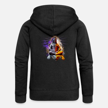 Ganesha Ganesha - Women's Premium Hooded Jacket