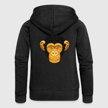 Monkey Monkey / monkey - Women's Premium Hooded Jacket