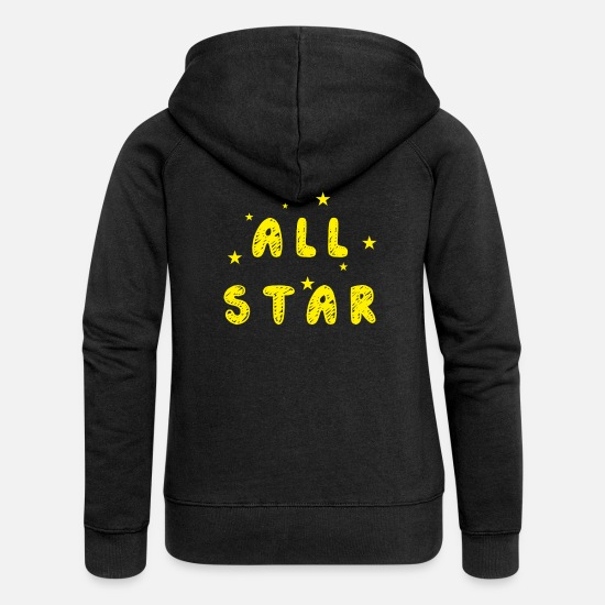 Starbucks Hoodies & Sweatshirts - all star - Women's Premium Zip Hoodie black
