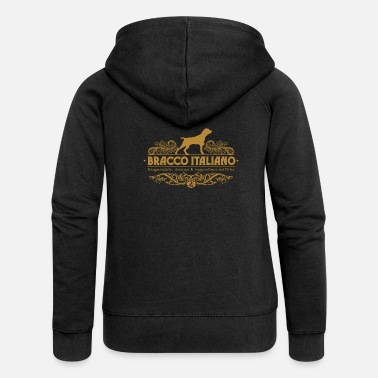 Wingshooter bracco_italiano_ornamental - Women's Premium Zip Hoodie