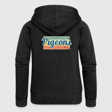 Pigeons pigeon - Women's Premium Hooded Jacket