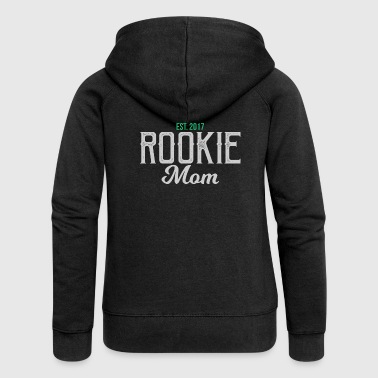 New Mom Rookie Mom - Mother's Day - Women's Premium Hooded Jacket