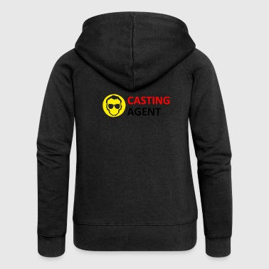 CASTING AGENT - Women's Premium Hooded Jacket