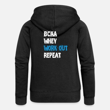 Work Out Work out - Women's Premium Zip Hoodie