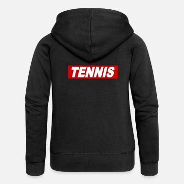 Obey Tennis Obey Style Motivation Cool Quote Regalos - Chaqueta con capucha premium mujer