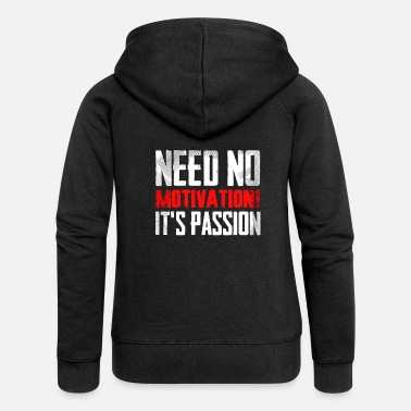 Testosterone Passion leader masculinity suffering and sacrifice - Women's Premium Zip Hoodie