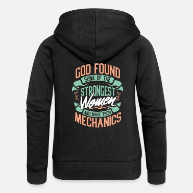 Car Mechanic Mechanic mechanic car profession gift - Women's Premium Hooded Jacket