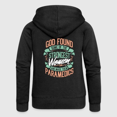 Paramedic Paramedic Paramedic Rescue Occupation Gift - Women's Premium Hooded Jacket