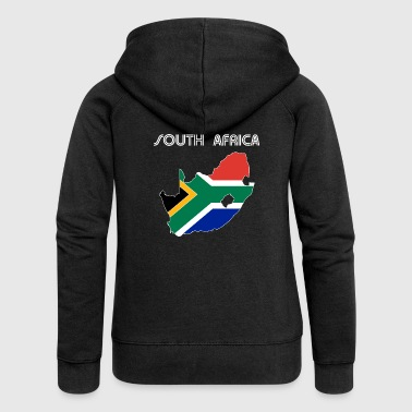 South Africa - Women's Premium Hooded Jacket