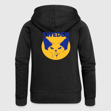 Devon Rex SWEDEN - Women's Premium Hooded Jacket