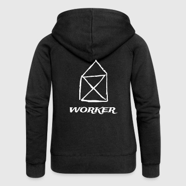 worker - Women's Premium Hooded Jacket