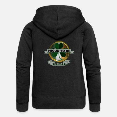 Proud Irish Proud - Frauen Premium Kapuzenjacke