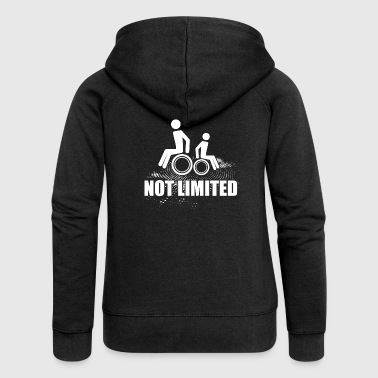 Wheelchair Disability Unlimited - Women's Premium Hooded Jacket