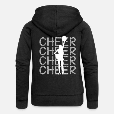 Cheers Cheerleading - Cheer Cheer Cheer - Women's Premium Zip Hoodie