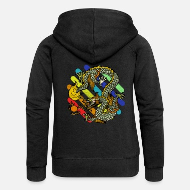 Mythical mythical creatures - Women's Premium Zip Hoodie