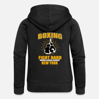 Boxing Gloves Boxing boxer boxing gloves - Women's Premium Hooded Jacket
