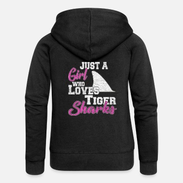Tiger Shark Tiger Shark - Women's Premium Hooded Jacket