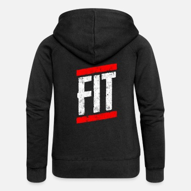 Fitness Fitness fit - Women's Premium Zip Hoodie