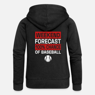 Baseball Players Baseball Player Baseball Player Baseball - Women's Premium Zip Hoodie
