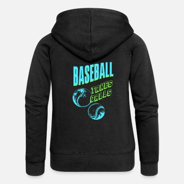 Baseball Players Baseball baseball player baseball player - Women's Premium Zip Hoodie