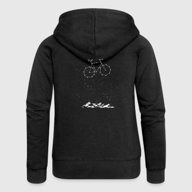 Bike Constellation - Frauen Premium Kapuzenjacke