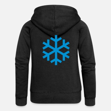 Icon Snowflake Weather Icon Icon - Naisten Girlie svetaritakki premium