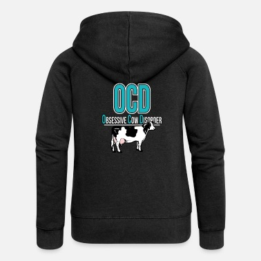 Cow cow - Women's Premium Hooded Jacket